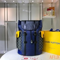 HCXX 19Aug 633 Louis Vuitton LV M41379 Fashion Casual Outdoor Christopher Backpack 41-48-13cm