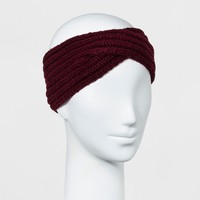 Women's Twisted Knit Headband - A New Day™