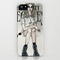 The Pretty Reckless iPhone & iPod Case by Lucas David