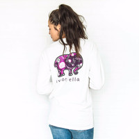 Classic Fit White Fantasy Space Tee