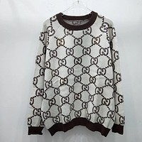 GUCCI Women Fashion Letter Pullover Sweater