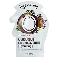Tony Moly I'm Real - Coconut Face Mask Sheet - Hydrating (2 pack) (2 sheet masks)