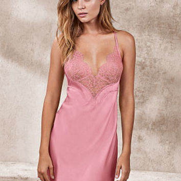 761a259abb Satin   Lace Low Back Slip - Very Sexy - Victoria s Secret