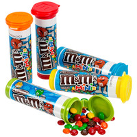 M&M's Minis Candy Tubes: 24-Piece Box