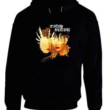 Imagine Dragons Poster Face Hoodie