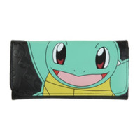 Pokemon Squirtle Embossed Flap Wallet