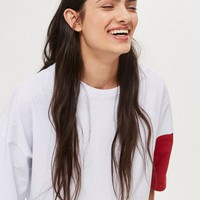 Colour Block T-Shirt by Native Youth | Topshop