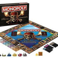 Pirates of the Caribbean Ultimate Edition Monopoly Board Game NEW