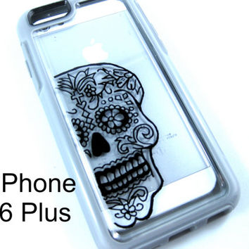 OTTERBOX Symmetry Iphone 6plus, iPhone 6plus, Symmetry case ,iPhone 6plus otterbox sugarskull case,otterboxiPhone , otterbox, otterbox case