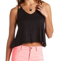 STRAPPY SWING CROP TOP