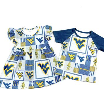 RTS West VA Mountaineers Sibling Set D26