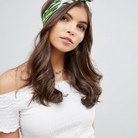 ASOS Tropical Print Headband at asos.com