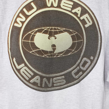 90s WU WEAR JEANS co t shirt - vintage 1990s - wu tang