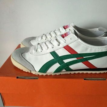 onitsuka tiger unisex classic running sport casual couple plate shoes sneakers