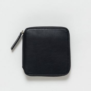 BAGGU Leather Square Wallet