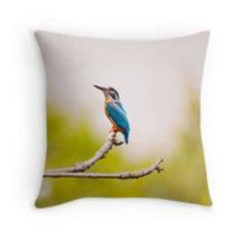 'Kingfisher Nature' Coussin by Creative-World