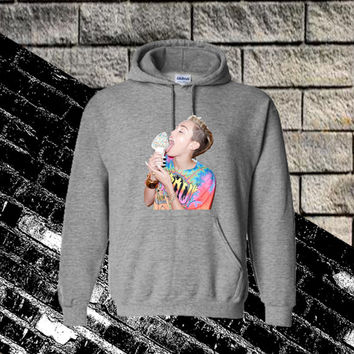 Miley Cyrus Ice Cream Hoodie Sweatshirt SweaterShirt