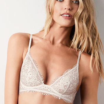 Lace Quarter-cup Bralette - The Victoria's Secret Bralette Collection - Victoria's Secret