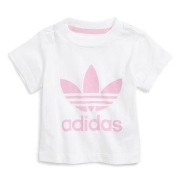 adidas Originals Trefoil Graphic Tee (Baby Girls) | Nordstrom