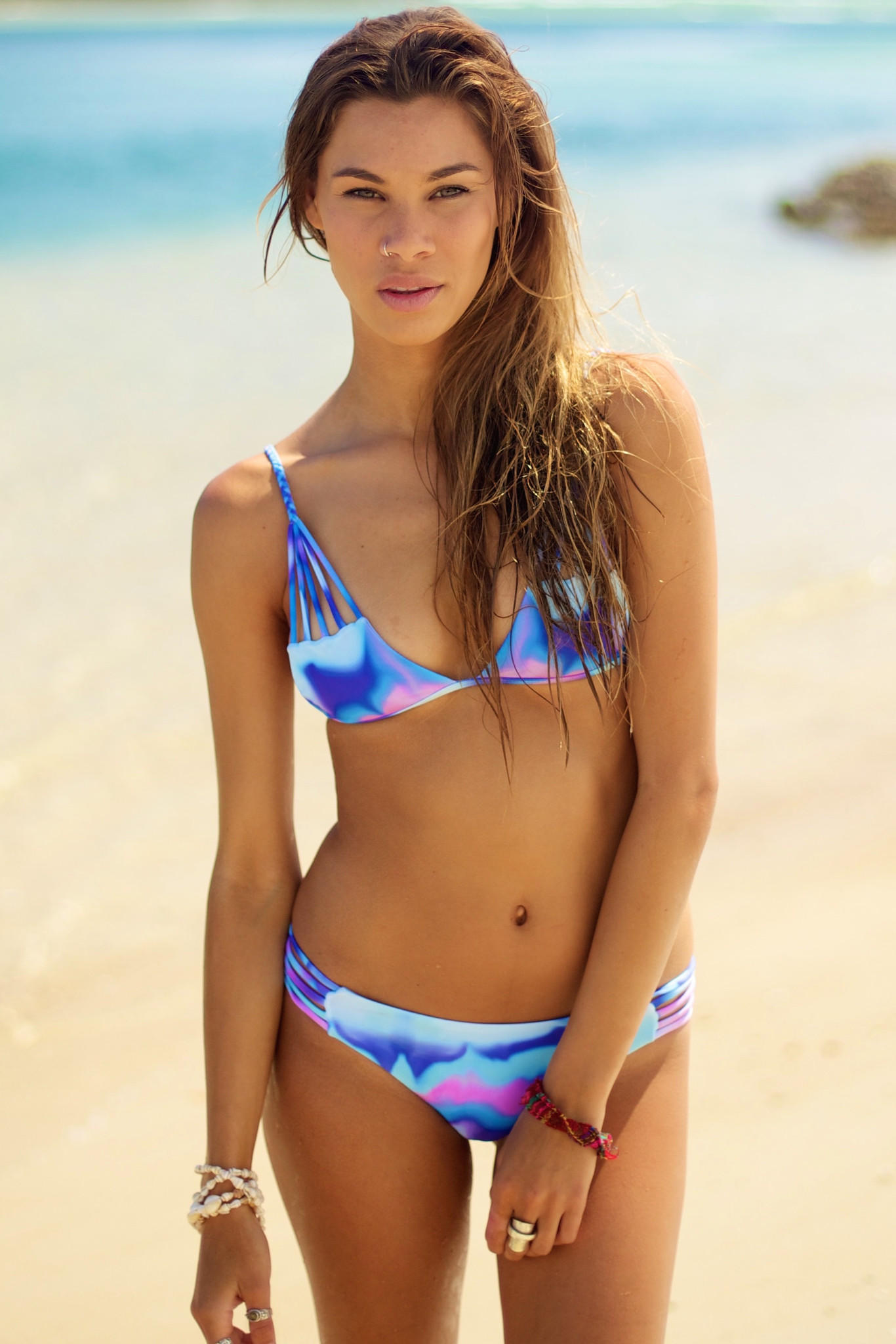 electric jellyfish from moana bikini | bras/swim suits