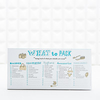 What to Pack Memo Pad - Urban Outfitters