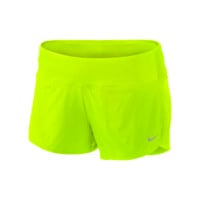 "Nike 2"" Rival Stretch Woven Women's Running Shorts - Volt"