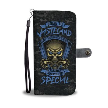 'Come to Wasteland' [Fallout 4] Wallet Phone Case