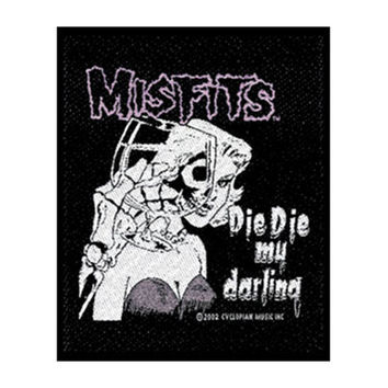 Misfits Men's Woven Patch Black