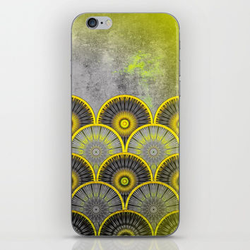 Abstract mandala scale pattern iPhone & iPod Skin by Jeanette Rietz