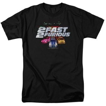 2 Fast 2 Furious - Logo Short Sleeve Adult 18/1
