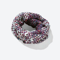 Bufanda snood punto mix