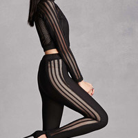 Mesh Top and Legging Set