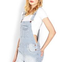 Blue Jeans Babe Overall Shorts