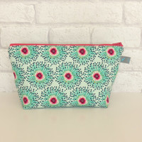 Makeup bag in Cloverfield fabric from AGF
