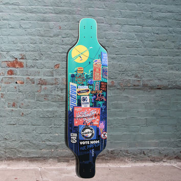 "Madrid Billboard Dream Carving Longboard Top Mount 39"" - Deck"