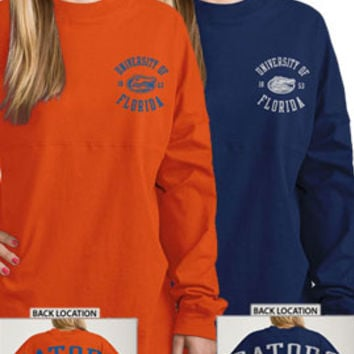 University of Florida Gators Women's Ra Ra Football Long Sleeve T-Shirt | University of Florida