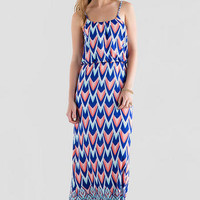 MALLIE PRINTED MAXI DRESS