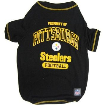 ONETOW Pittsburgh Steelers Pet Shirt XS