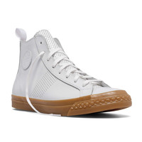 PF Flyers Perforated Rambler High in White