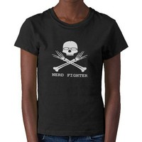 Nerd Fighter Tee Shirts from Zazzle.com
