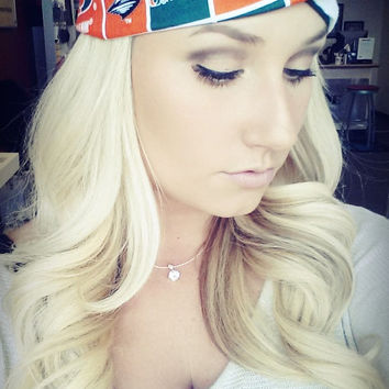 University Of Miami twist headband