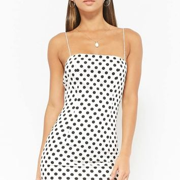 Polka Dot Mini Cami Dress