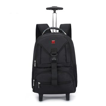 Rolling Carry On Backpack