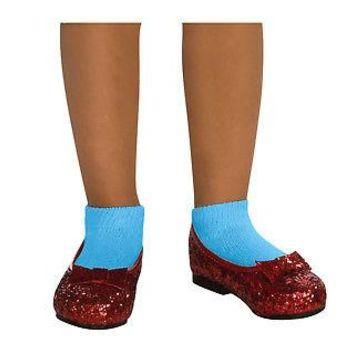 Deluxe Wizard of Oz Ruby Slippers for Kids - Costume Accessory