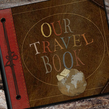 Our Travel Photo Album or Scrapbook by AlbumOptions on Etsy