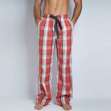 Loungewear Yarn Dye Plaid Pant