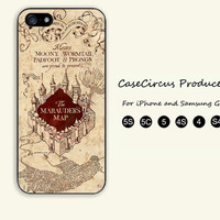 Harry Potter, Marauders Map, iPhone 5 case, iPhone 5C Case, iPhone 5S , Phone case,iPhone 4 Case, iPhone 4S Case, Case,