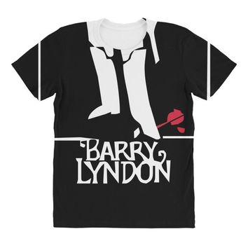 barry lyndon 1975 stanley kubrick movie All Over Women's T-shirt