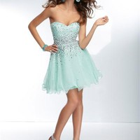 Sticks and Stones 9252 - Short Prom Dress - Formal Dress - Homecoming Dress - 9252