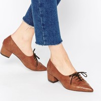 ASOS ON THE CARDS Lace Up Heels